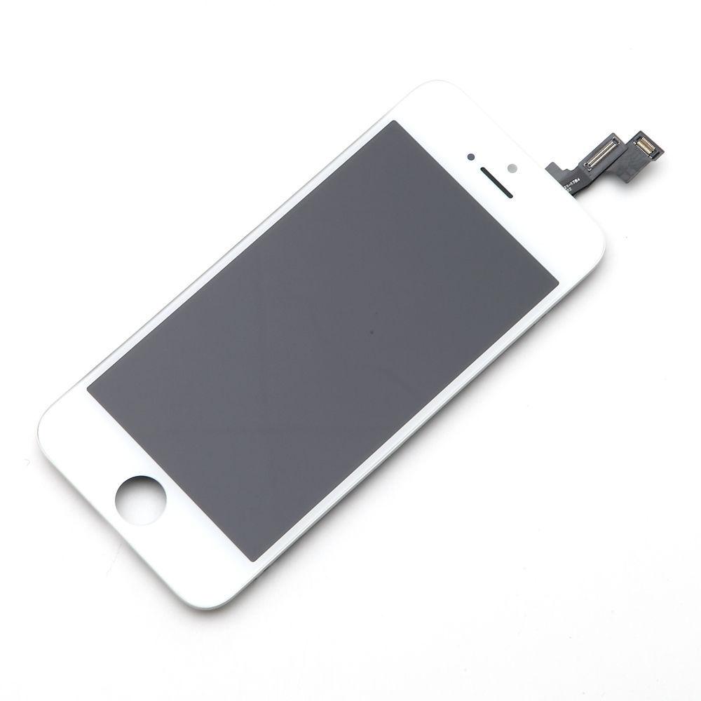 le plus en vogue choisir l'original procédés de teinture minutieux Display LCD rigenerato per iPhone SE Bianco