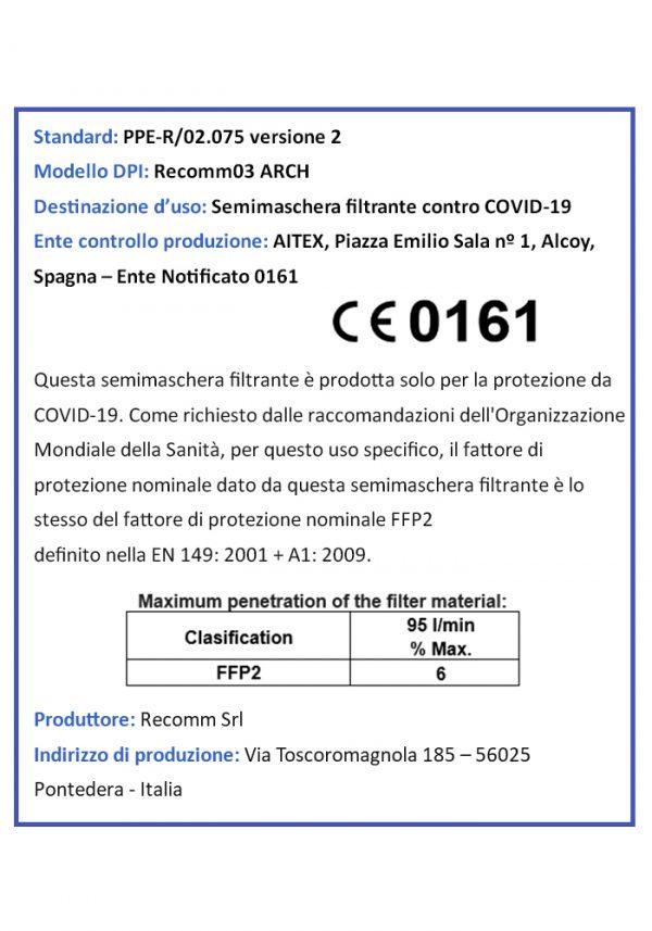 Certificazione CE0161